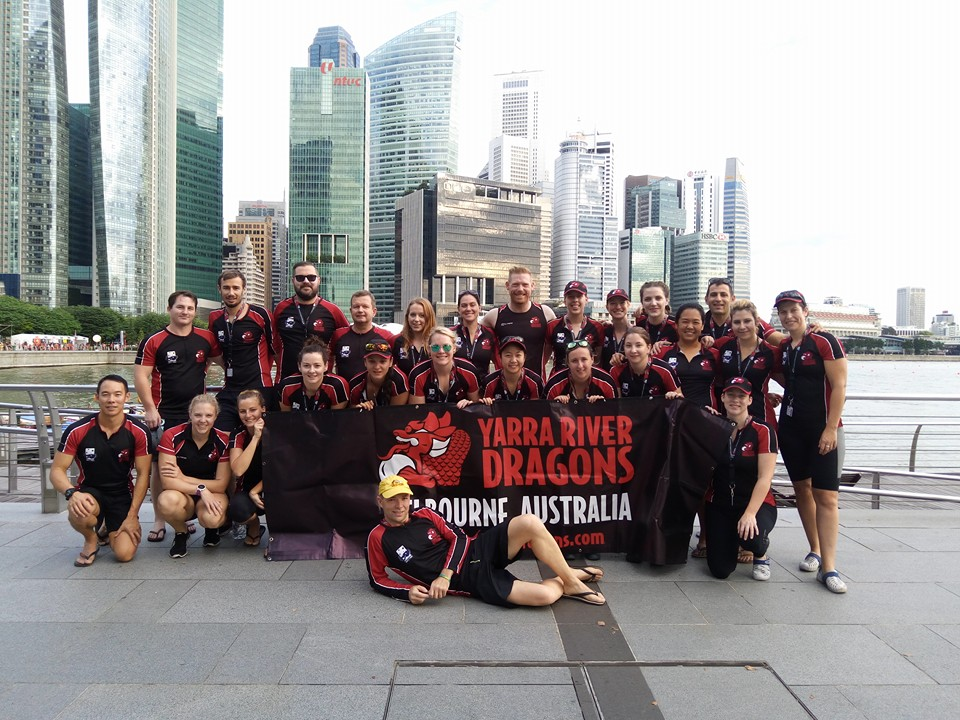 YRD Team at Singapore DBS Regatta